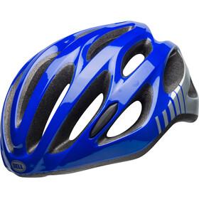 Bell Draft casco per bici blu/argento